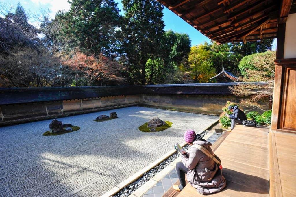 Jardim de pedra, Templo Ryoan-ji