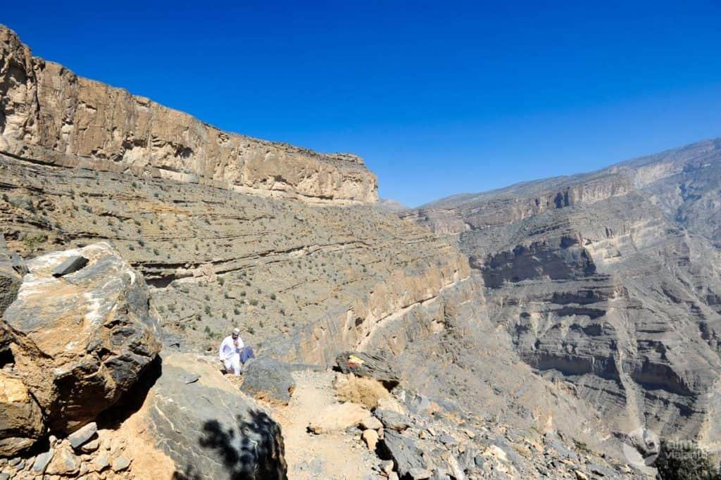 Trekking W6 - garganta An Nakhu