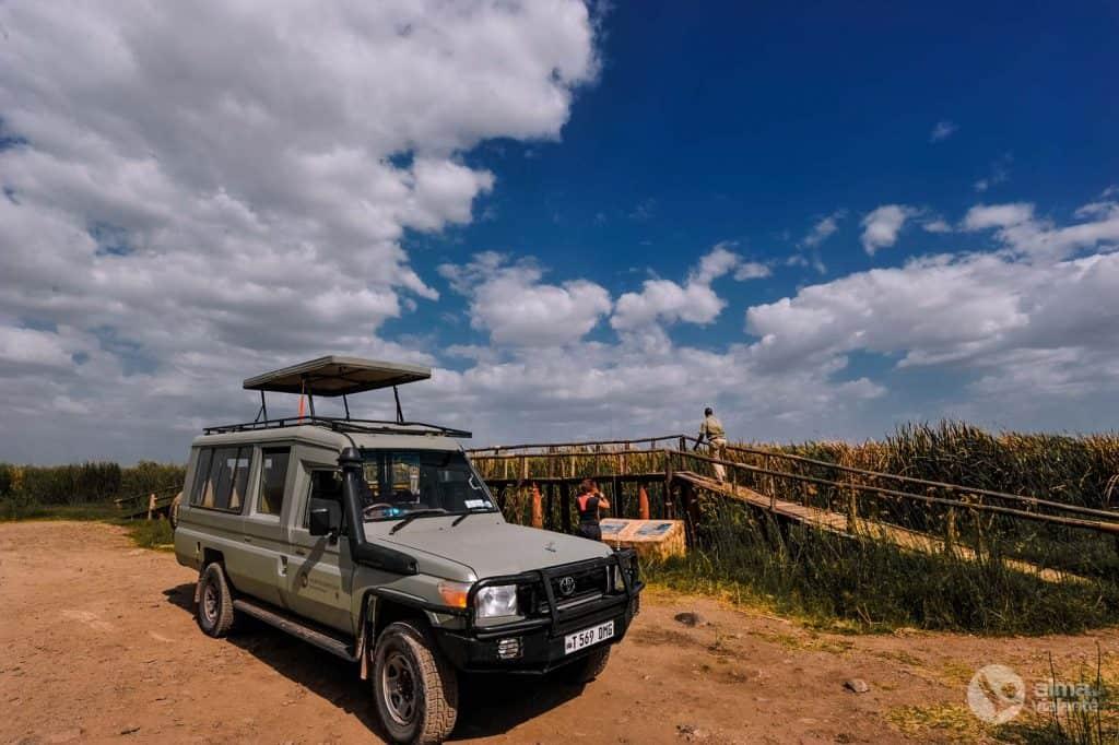 Jeep duše Tanzanije
