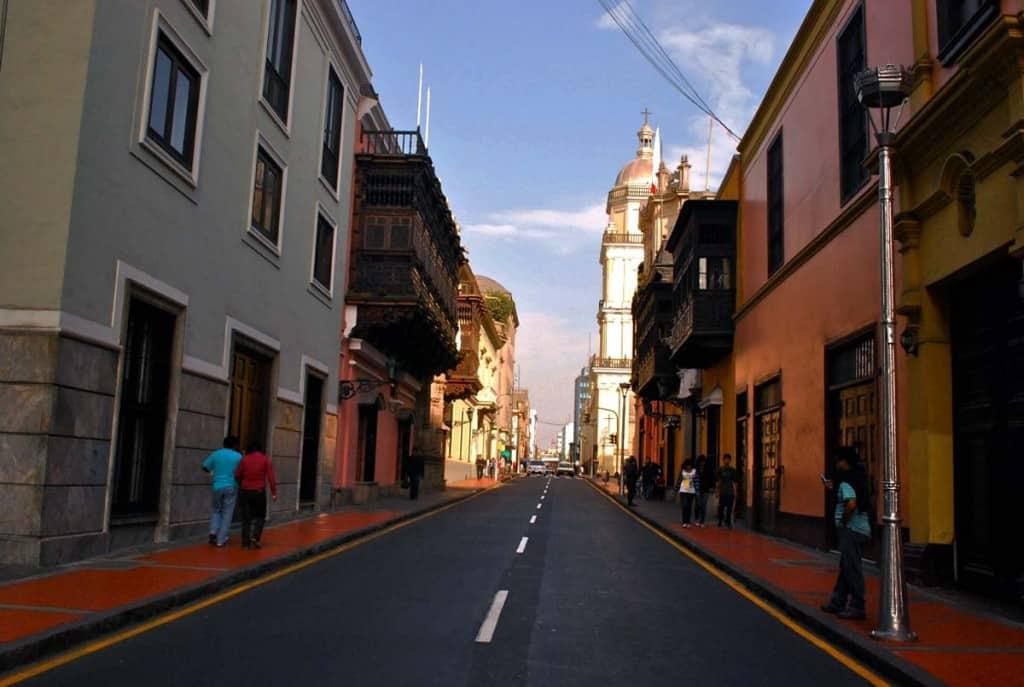Jirón Ucayali, Lima