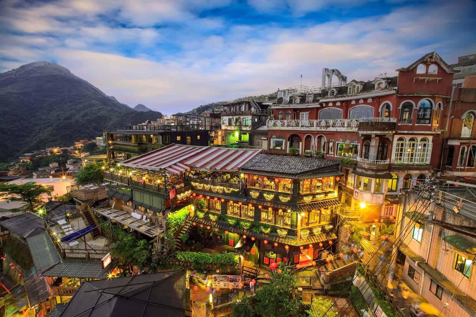Jiufen, Taipe, Taiwan