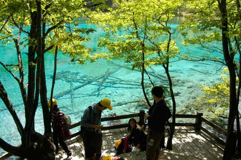 Parque Natural de Jiuzhaigou, Sichuan, China