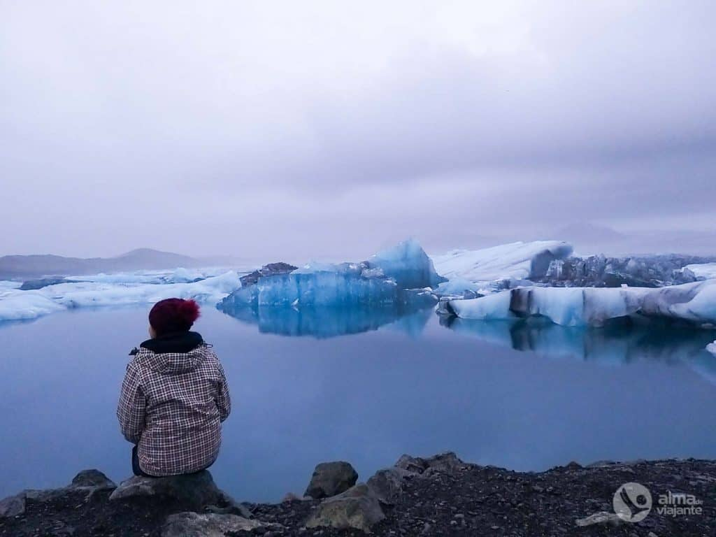 Jökulsárlón ezers, Islande