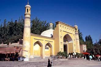 Idkah moskan í Kashgar, Kína