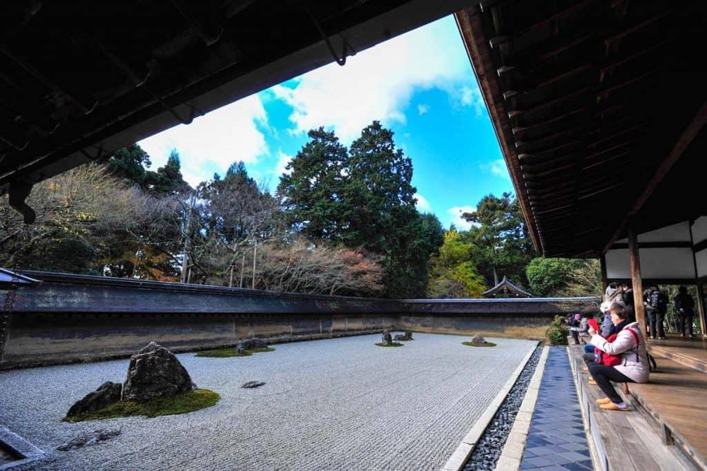 Jardins zen japoneses: Ryoan-ji