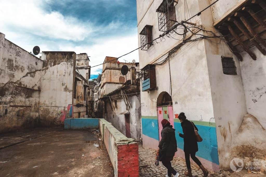 アルジェリアでの脚本:アルジェのkashbah