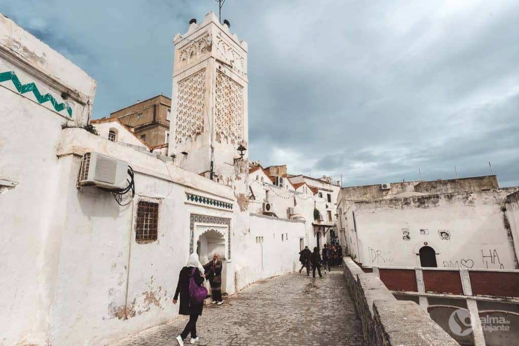 Návšteva Kasbah v Alžíri