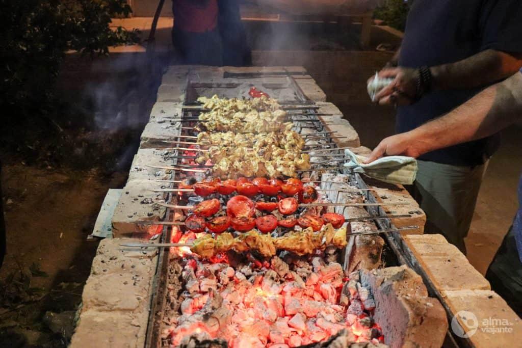 Kebab, o prato tradicional do Irão