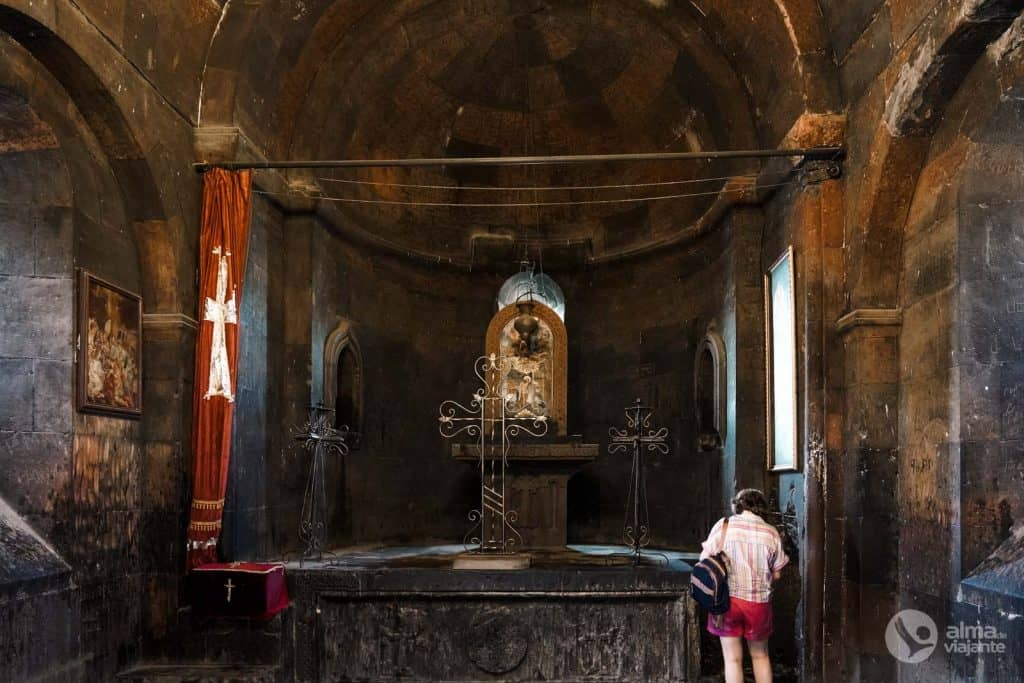 Visitar Khor Virap: capela