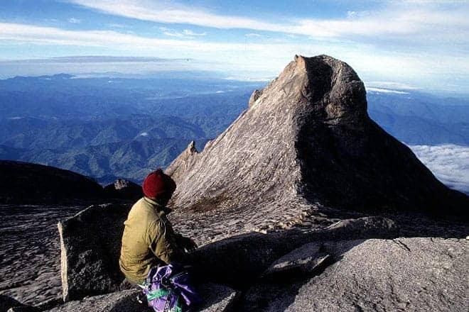 St John Peak, Monte Kinabalu, Bornéu
