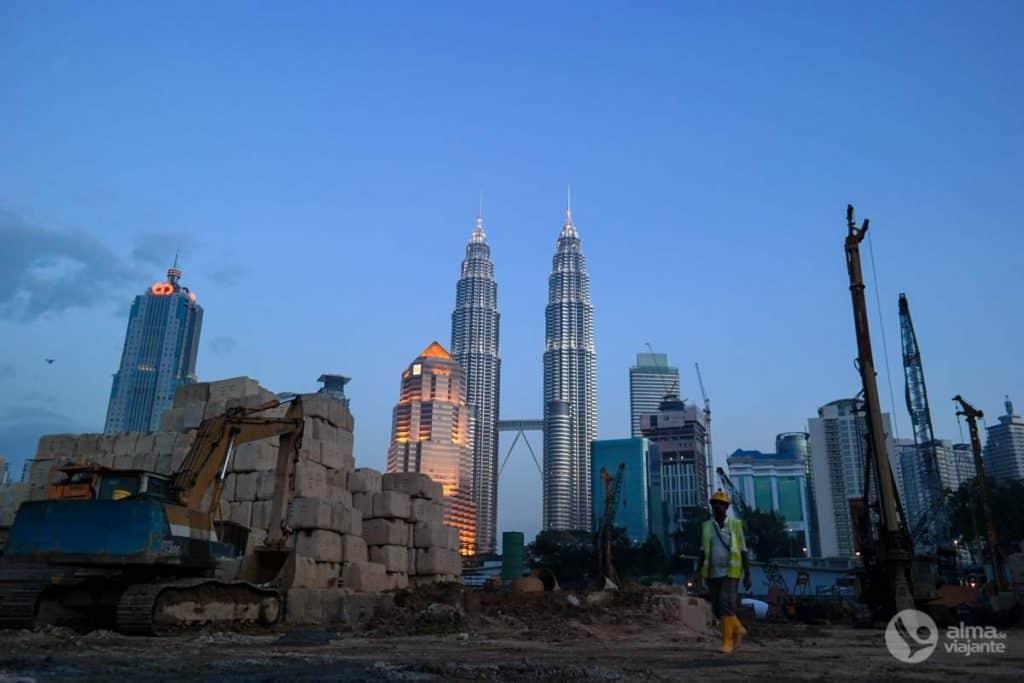 Centro da cidade de Kuala Lumpur (KLCC)