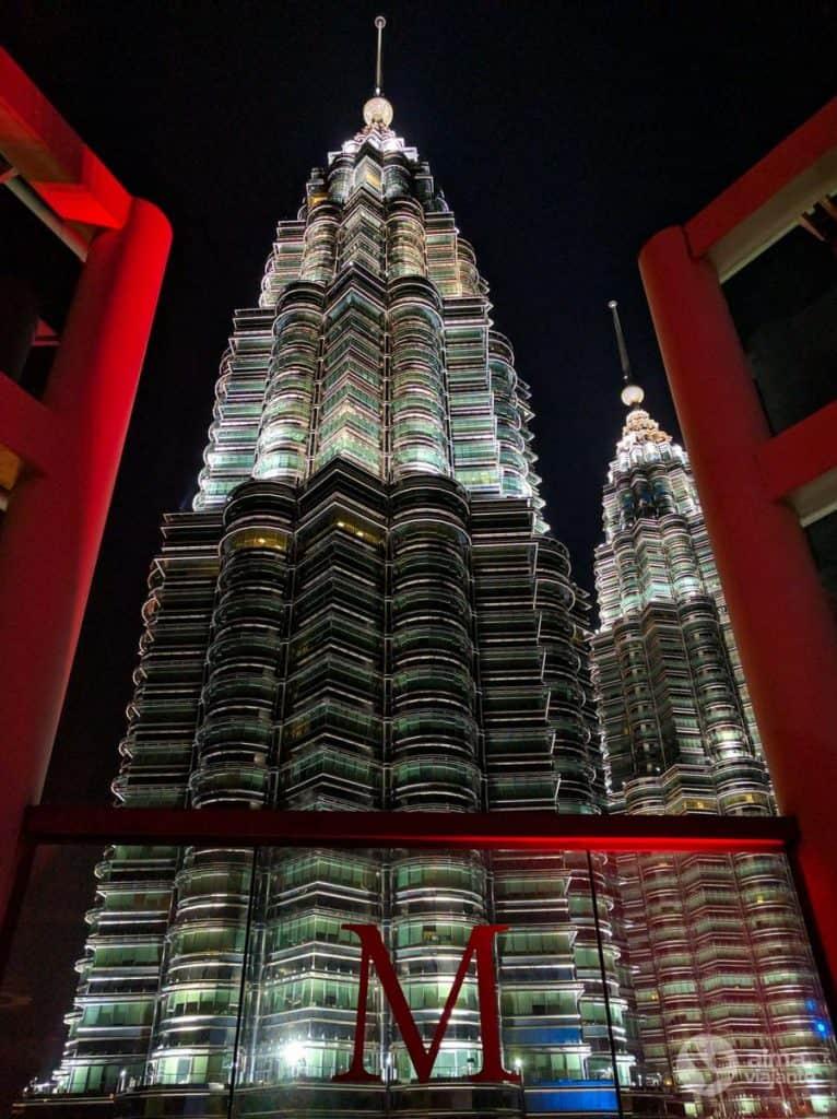 Torres Petronas, em KLCC