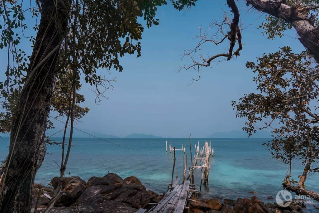 Visitar Koh Wai, arquipélago de Koh Chang