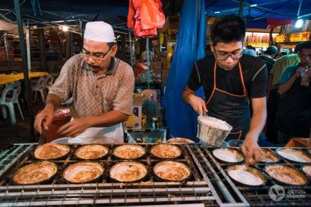 Comida de rua, Kuala Lumpur
