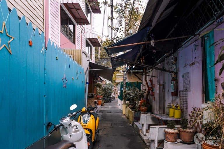Kudeejeen, bairro português de Bangkok