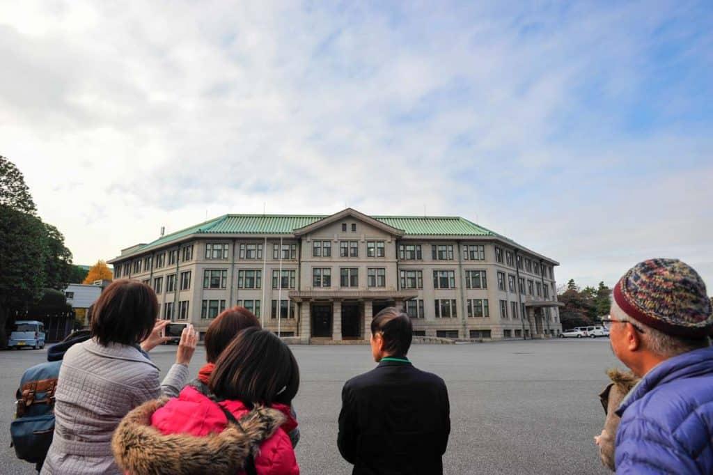 Besuch des Kaiserpalastes von Tokio: Kunaicho Chocha