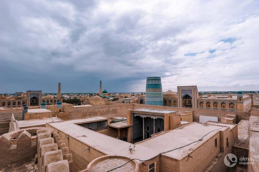 Fortaleza Kunya Ark, Khiva