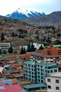Vista de La Paz, cidade capital da Bolívia