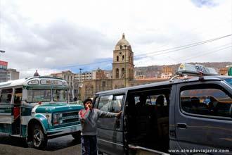 Transportes em La Paz, capital bolliviana
