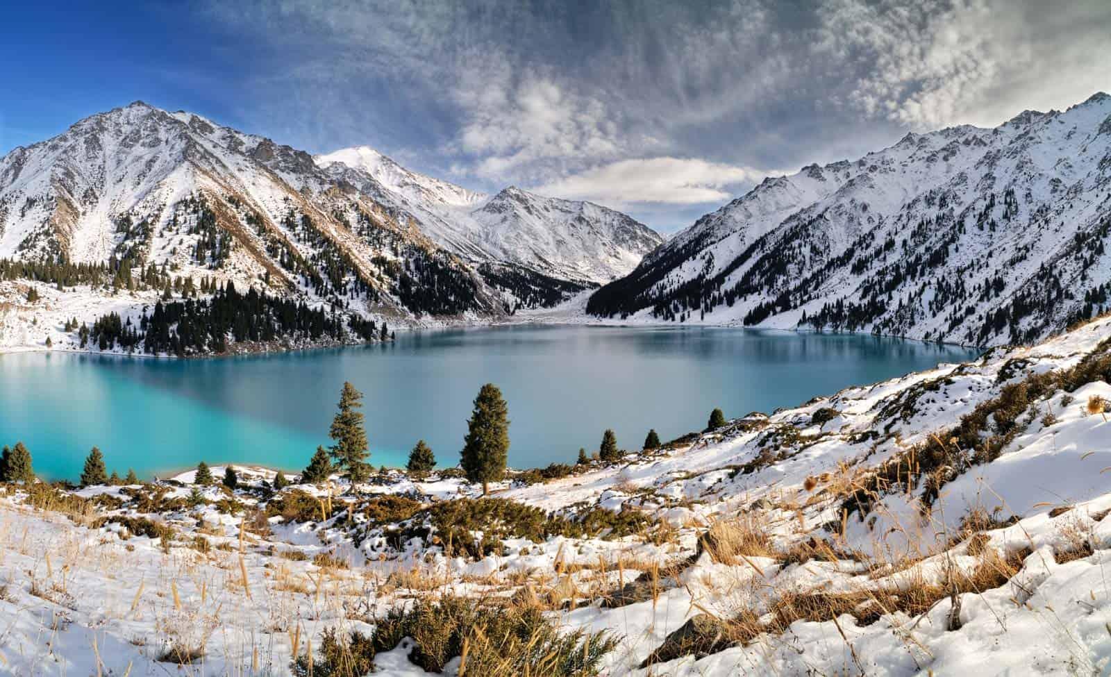 Almaty søen, Kasakhstan