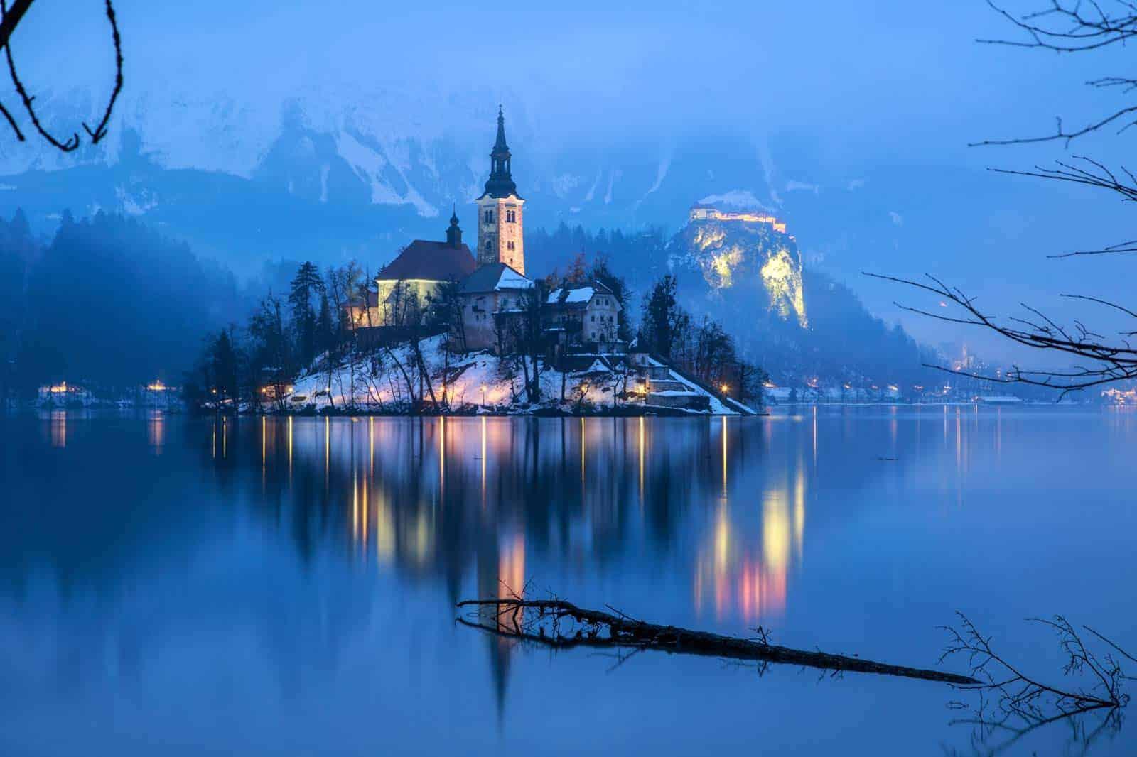 Bled ežeras, Slovėnija