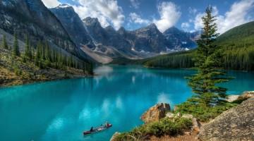 Lago Moraine, Canadá