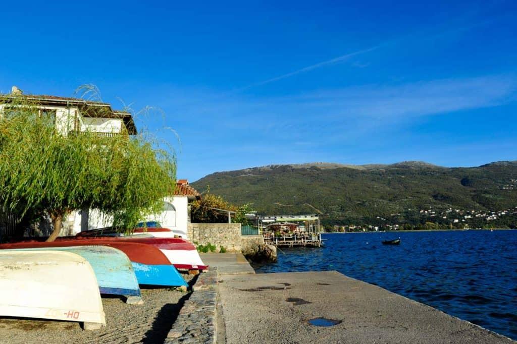 Ohridské jezero, Makedonie
