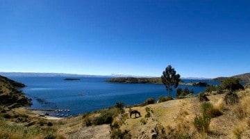 O mítico Lago Titicaca