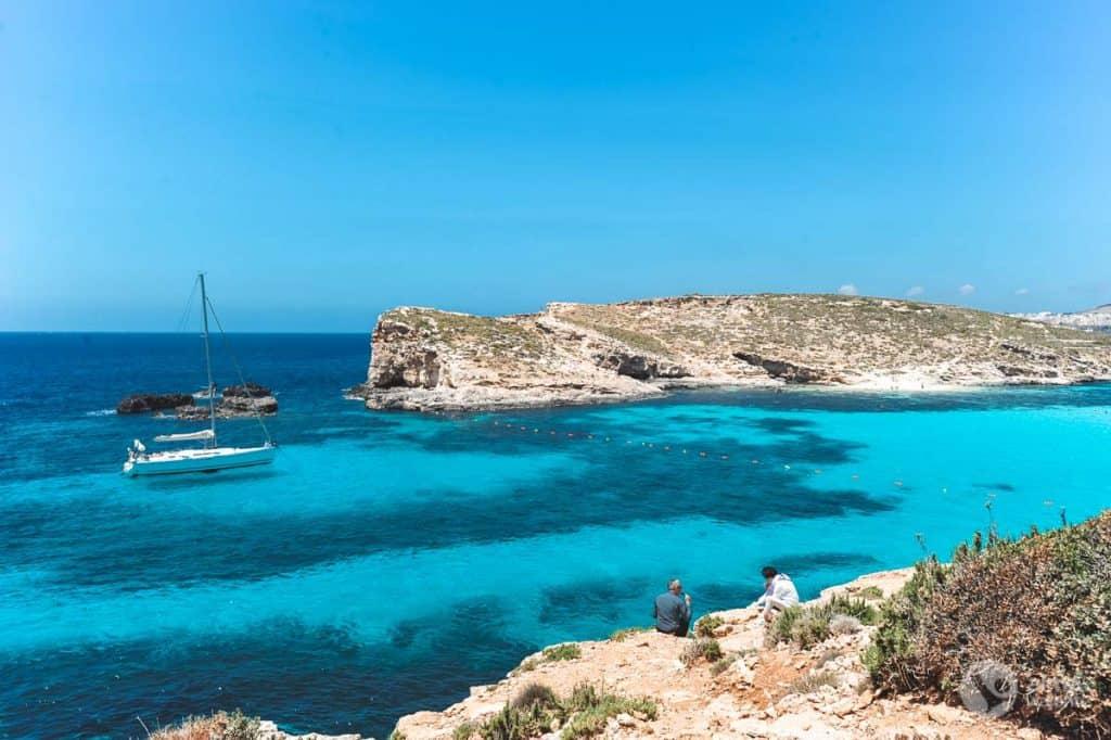 Käsikirjoitus Maltassa: Blue Lagoon, Comino