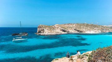 Lagoa Azul (Comino), a praia mais bonita de Malta