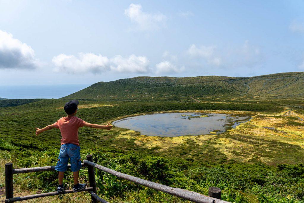 Lagoa Branca, ilha das Flores