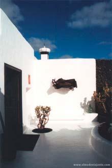 Aspecto da Fundação César Manrique, entre Arrecife e San Bartolomé