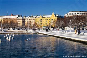 Inverno em Helsínquia