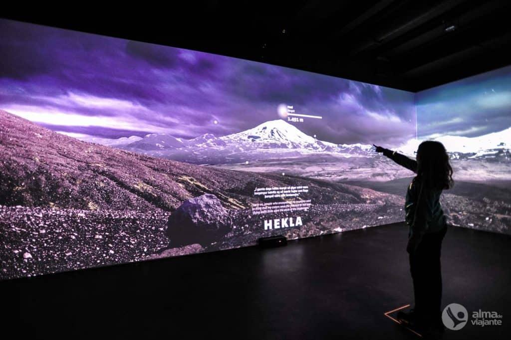 Apmeklējiet Lavas muzeju, Hvolsvollur