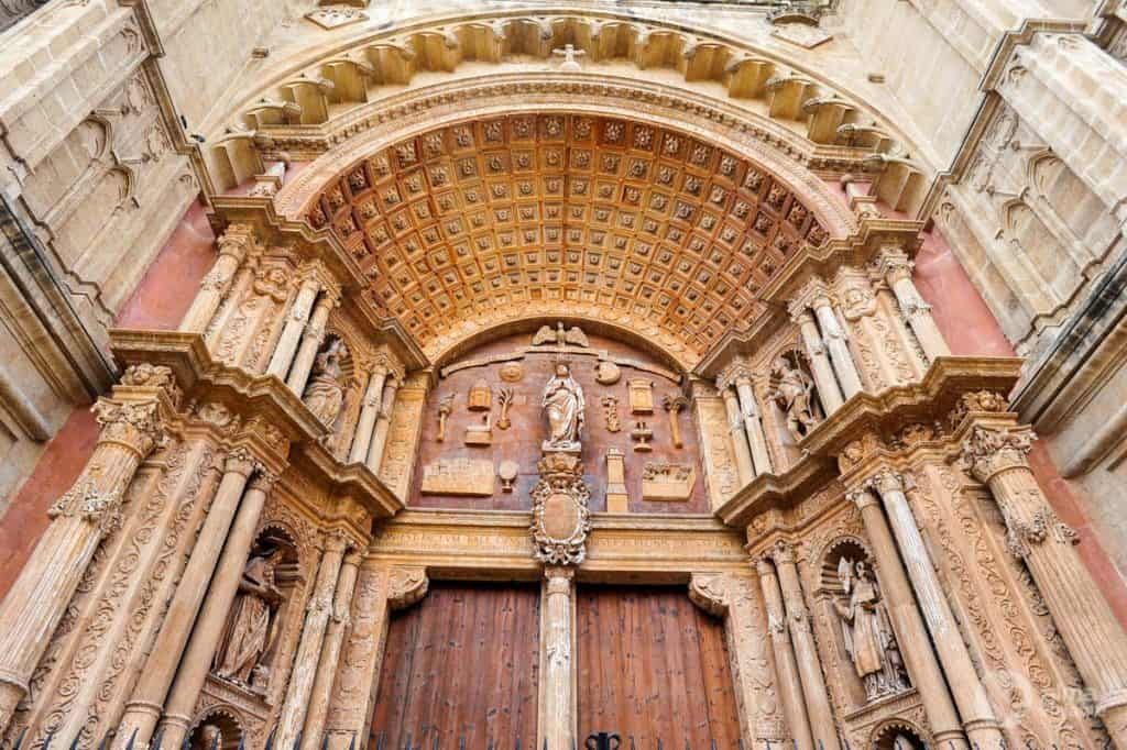 Porta do Mirador, Catedral de Palma de Maiorca