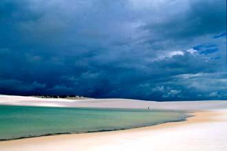 Lagoa Azul, Parque Natural dos Lençóis Maranhenses