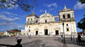 Centro histórico de León, Nicarágua