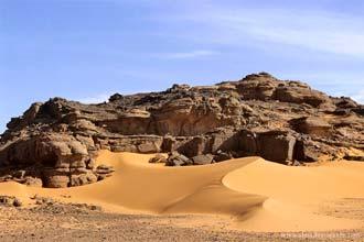 Região de Akakus, Deserto do Sara, Líbia