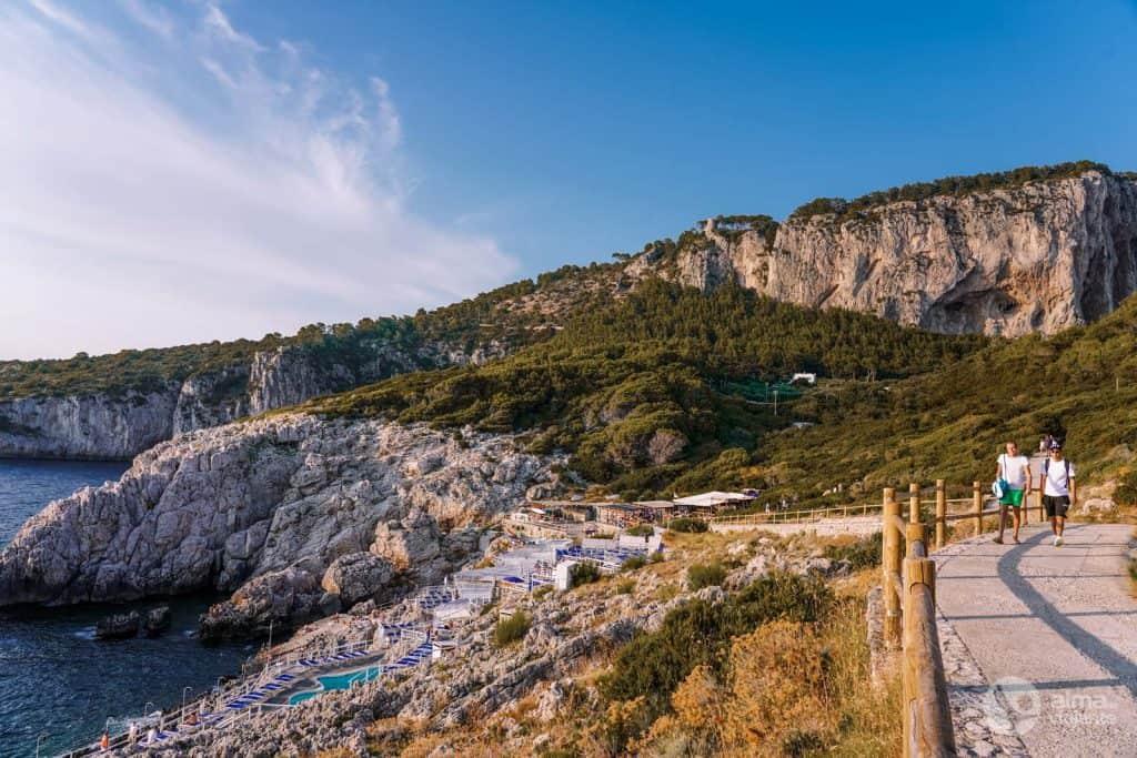 Lido del Faro, Capri