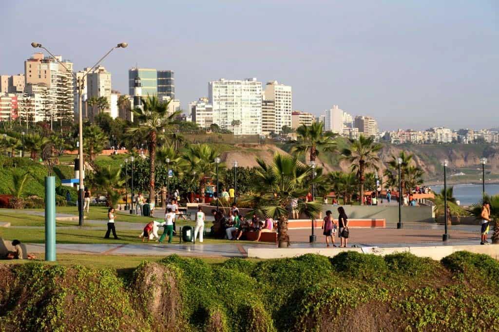 Visitar Lima: Malecón de Miraflores