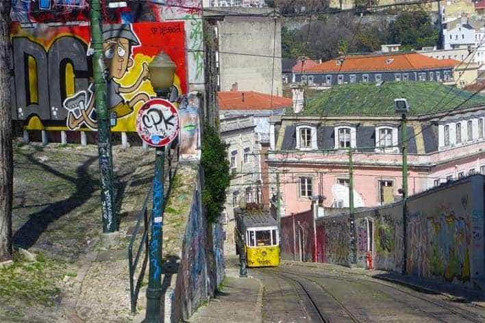 Calçada da Glória, Lisboa