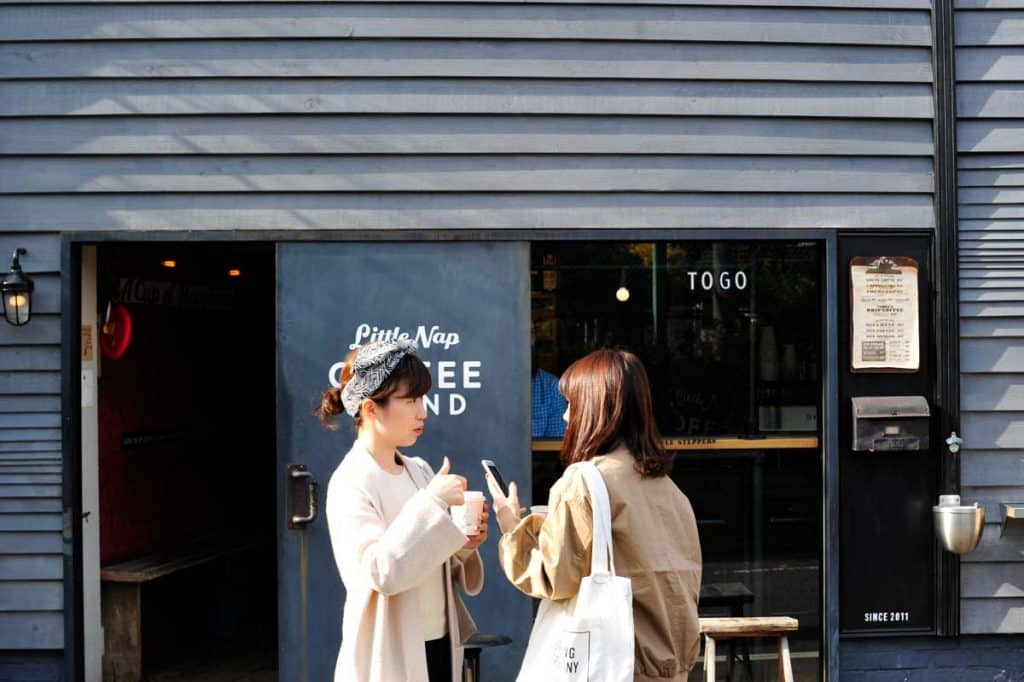 Little Nap Coffee Stand, Tóquio