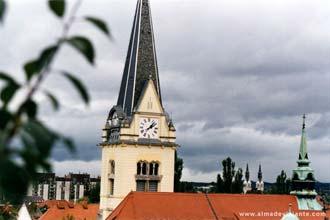 Liubliana, capital da Eslovénia
