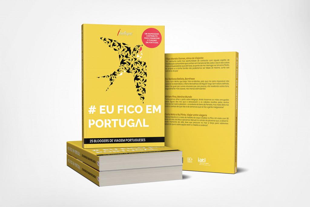 Livro Eu Fico em Portugal, da ABVP