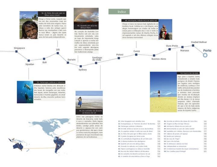 Livro Alma de Viajante