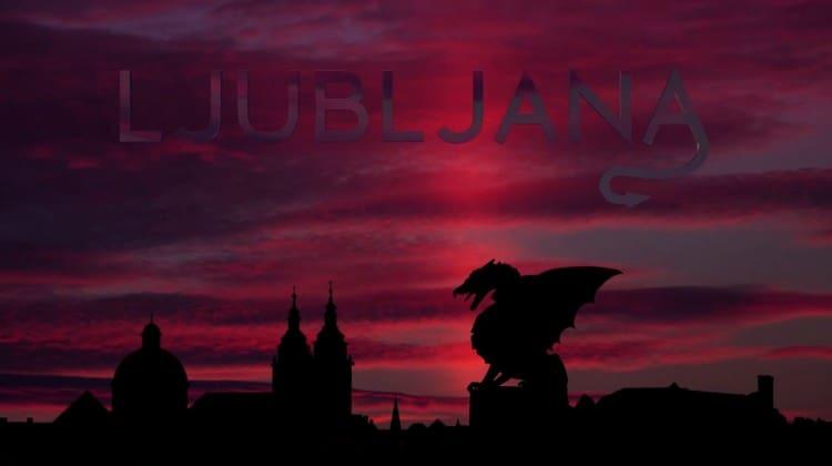 Ljubljana, a cidade do dragão