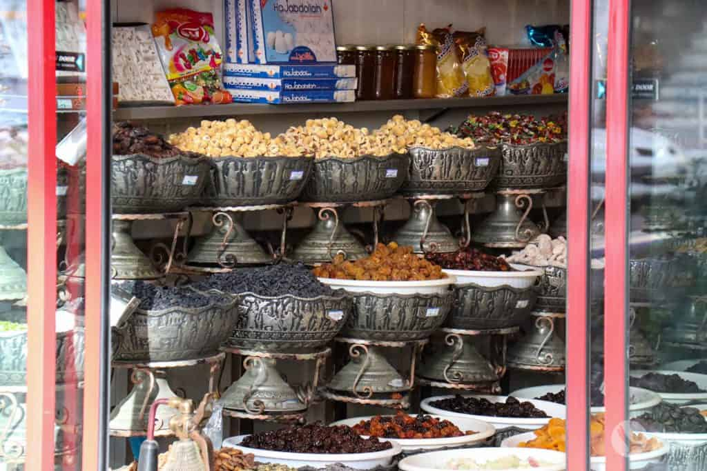 Frutos secos no Irão