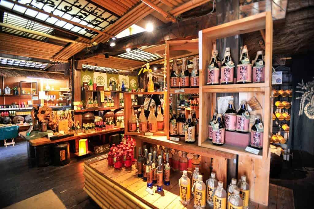 Loja na rua Omotesando em Miyajima
