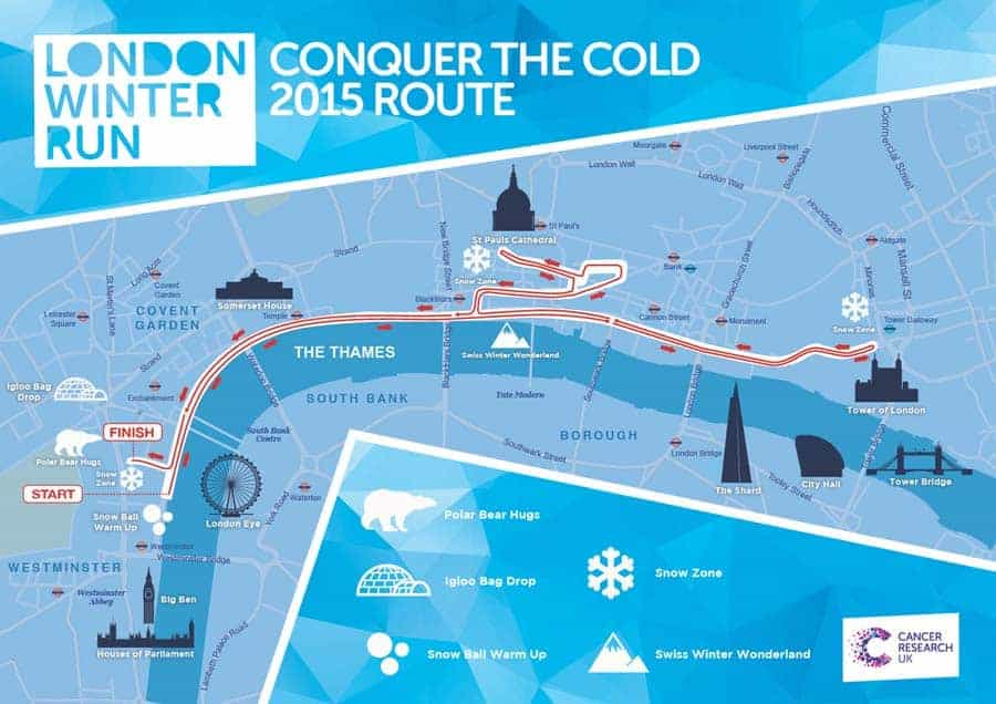 Dica de viagem: London Winter Run