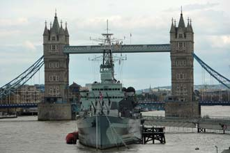 Tower Bridge, uma das mais famosas imagens de Londres